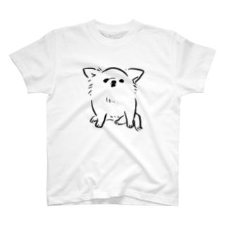 チワワ ベビー ホワイト【せいこせんせい】 T-shirts
