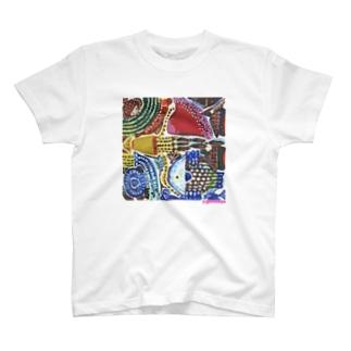 おさかなTシャツ T-shirts