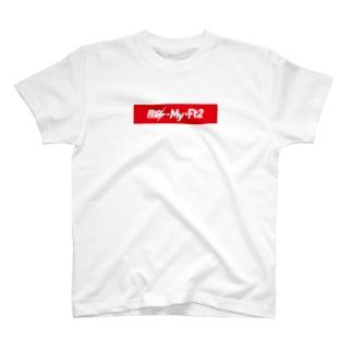 膣-My-Ft2(赤) T-shirts