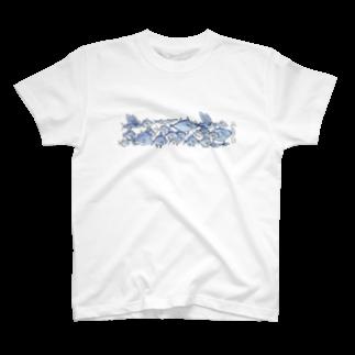 その ふぃりあ うーにかのぷっくり青魚 T-shirts