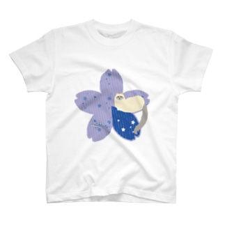Sakura[Blue-Ragdoll] T-shirts