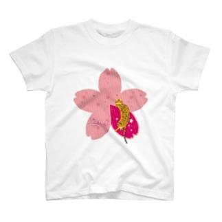 Sakura[Red-Bengal] T-Shirt