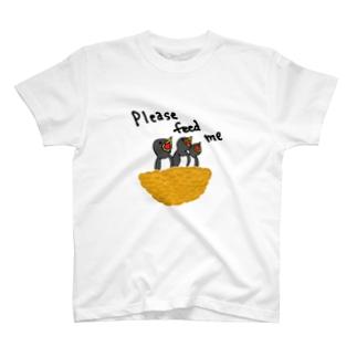 ツバメ「養って」 T-Shirt