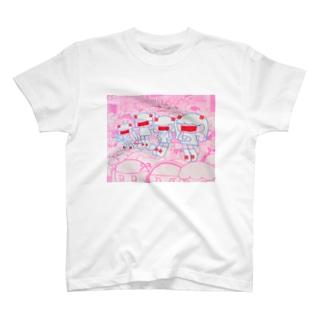 未来人in原宿 T-shirts