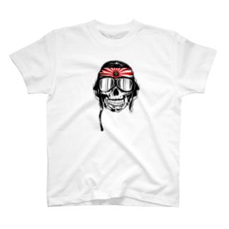 Kamikaze Biker T-shirts