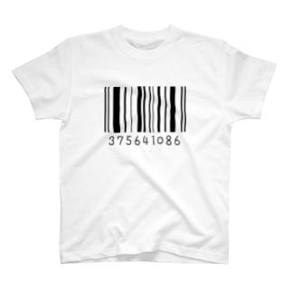 みなごろしバーコード T-shirts