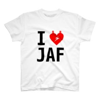 I LOVE JAF T-shirts