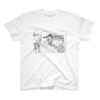 ガチ空中戦 T-shirts