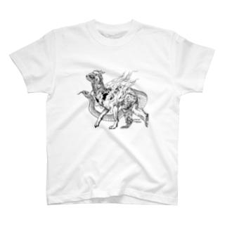十二支之図 寿 T-Shirt