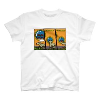 ラップの散歩 T-shirts