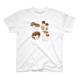 にくらしいキノコたち T-shirts