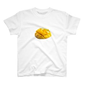 いただきマンゴー💛💓 T-shirts