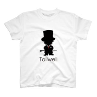 Tallwell ロゴ入り T-shirts