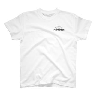 A.ZA.RA.SHI ロゴ T-shirts