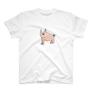 ミニブタくん T-shirts