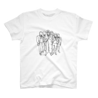 いけいけぼーい T-shirts