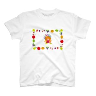 クレコちゃんのフルーツパラダイス T-shirts
