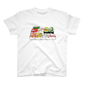 NINJA SUSHI Tsume-awase T-shirts