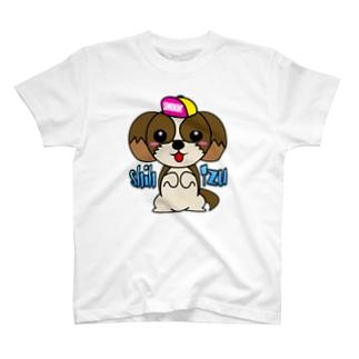 ちんちんシーズー T-shirts