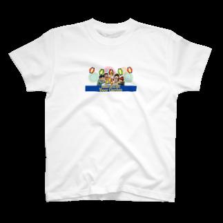 ふるさとグッズ販売にしふるかわ屋の西古川ビアガーデン T-shirts