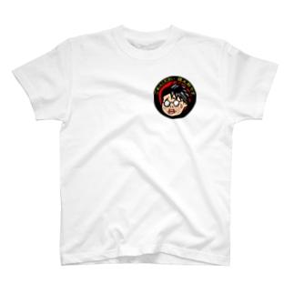 鏡太郎の怪談奇談コラボ企画【こわ太郎】 T-shirts