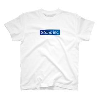 Stans T-shirt blue T-shirts