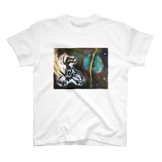地球真っ二つシリーズ1 T-shirts