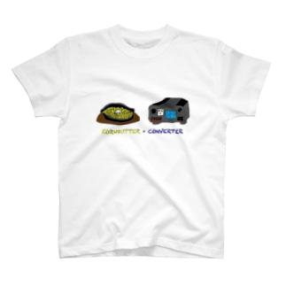 KORNBUTTER × CONVERTER T-shirts