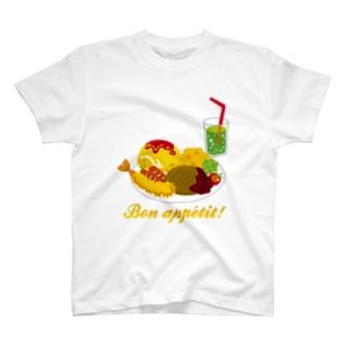 夢のお子さまランチ T-shirts