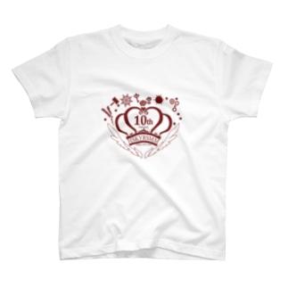 10周年ロゴ高郷カラー T-Shirt