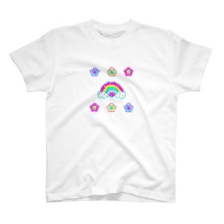 🌸キラキラお花🌸👾ドット絵👾 T-Shirt