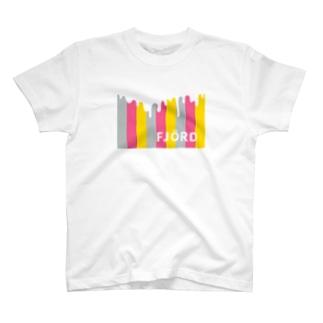 フィヨルドTシャツ(Pink2) T-shirts