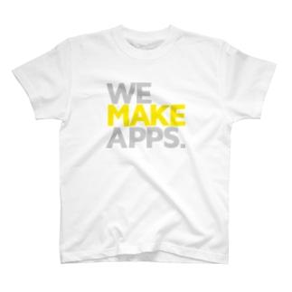 WeMakeApps Tシャツ T-shirts