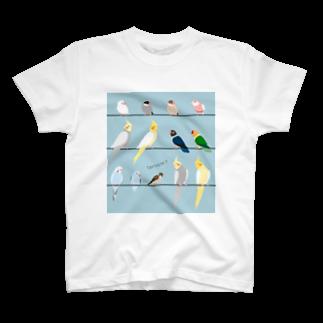 ビガクブのトリノート Tシャツ