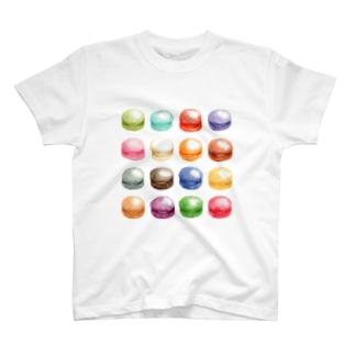 カラフルマカロン Tシャツ