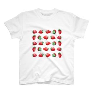 いちご Tシャツ
