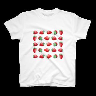 山田理矢のいちご Tシャツ