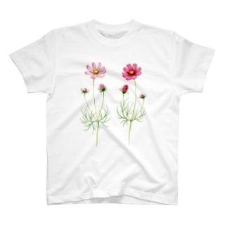 コスモス Tシャツ