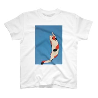 ニシキネコ(反対) T-shirts