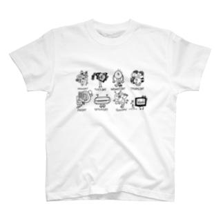 1WEEK MONSTERS T-Shirt