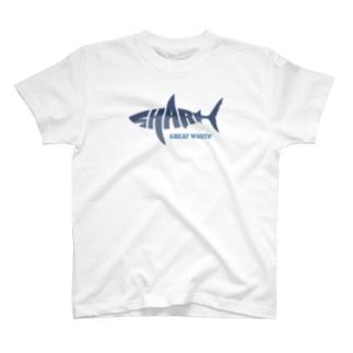 SHARK -Letter Logo Style- T-Shirt