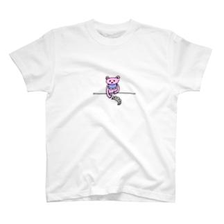 くまーめいどおもうところあり T-shirts