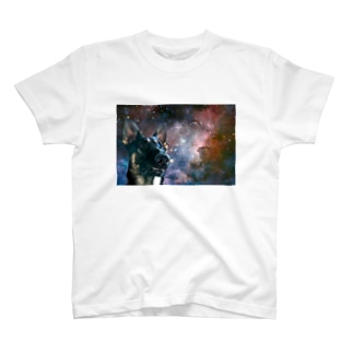 Space German shepherd-MKⅠ-W T-shirts