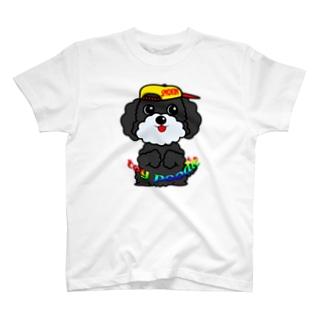 ちんちんトイプードル T-shirts
