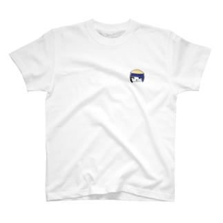 田舎っぺ娘ワンポイント T-shirts