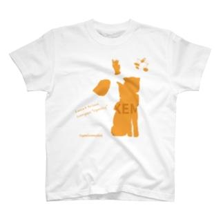 ネムちゃん シルエット T-shirts