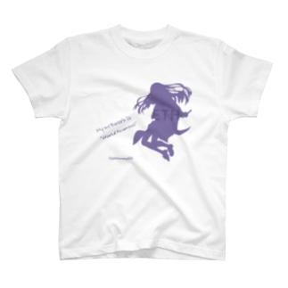イーサリアムちゃん シルエット T-shirts