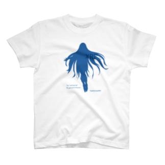 リップルちゃん シルエット T-shirts