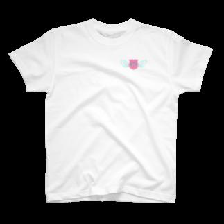 うめの@元気な住所移動無飾のはばたけののちゃん!Tシャツ T-shirts