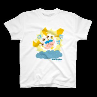 Nabecoのりんごろちゃん(雷のこ) Tシャツ